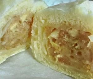 角切りチーズたっぷりのチーズ入り焼売饅頭
