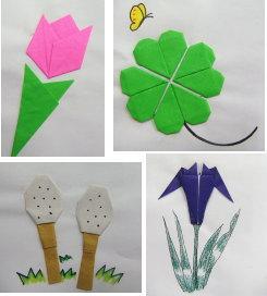 折り紙の植物です