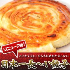 日本一長~い餃子