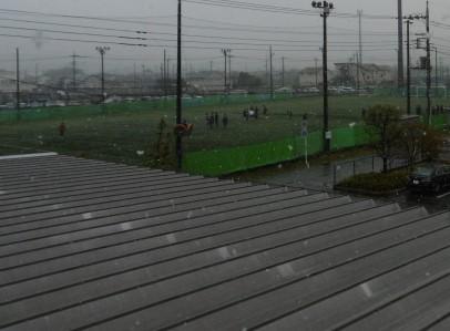 4月に大雪!?