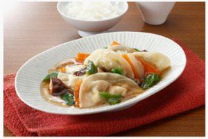 焼き餃子の八宝菜