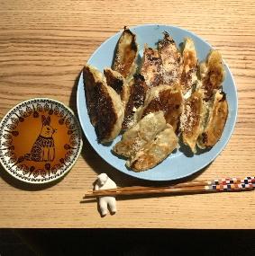 25日目 野菜たっぷり生餃子
