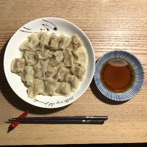 10日目 一口生餃子