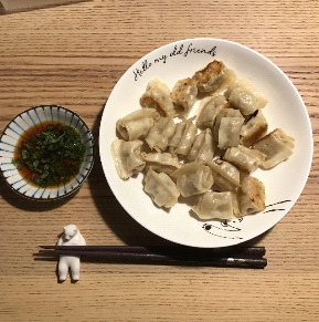 22日目 一口生餃子
