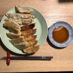 9日目もち豚肉生餃子