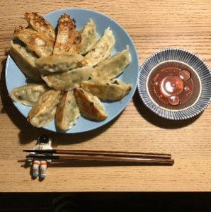 6日目 野菜たっぷり生餃子