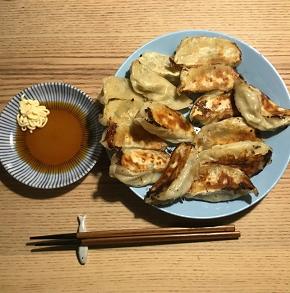 31日目 野菜生餃子