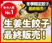 ■生姜生餃子最終販売