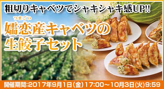 嬬恋産キャベツの餃子セット