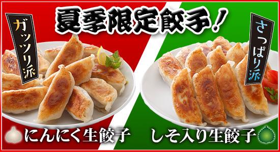 夏季限定餃子